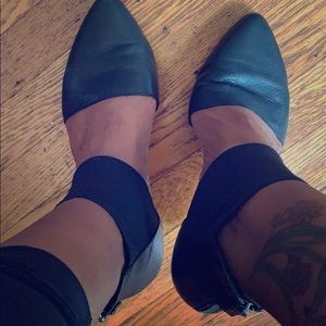 Eileen Fisher Allot Ankle Strap Ballet Flats